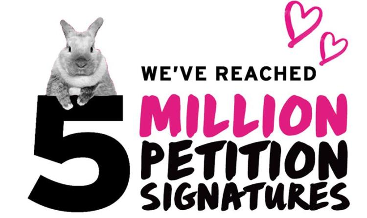 5 Million Petition Signatures